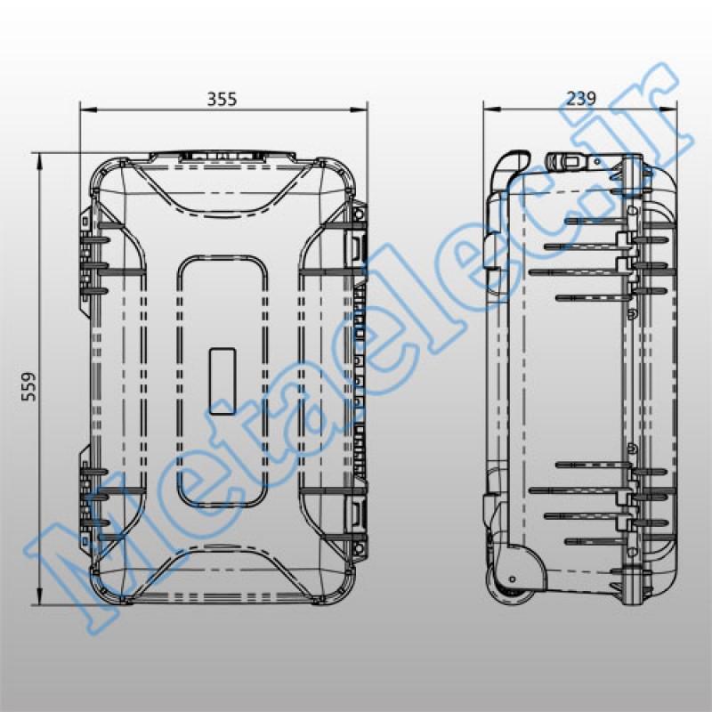 46-1510 / Plastic Equipment Case