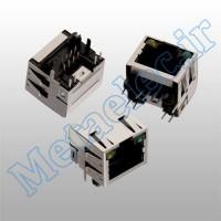 615008137421 /WR-MJ Feml Shld Hztl 8P8C Tab Up LED&EMI