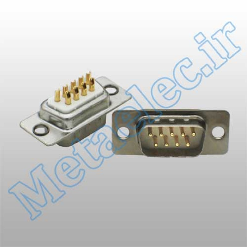 کانکتور DB9 - نری -کیفیت بالا - کانکتور صنعتی