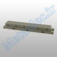 PCN10-128S-2.54DSA(72) / کانکتور DIN 4*32 صاف مادگی DIN 41612 Connectors