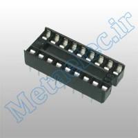 سوکت 18 پایه ساده / socket-18p-com