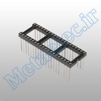 سوکت 40 پایه نظامی پایه بلند / socket-40p-com