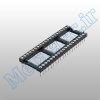 سوکت 40 پایه نظامی پایه کوتاه / socket-40p-com