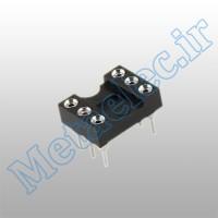 سوکت 6 پایه نظامی / socket-6p-com