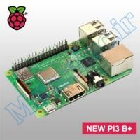 raspberry pi 3 model B+ made in UK برد رزبری پای3 رزبری پای اورجینال انگلستان 3 پلاس